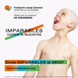 POST Imparables contra la leucemia