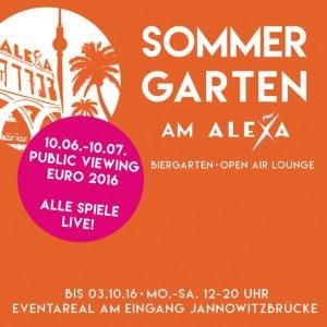 Sommergarten im Alexa